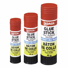 Glue Sticks, Acid-free, Washable, 20 g