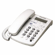 Integrated Phone, w/Call Wait/Caller ID, 50 Station Memory, BK