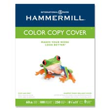"Colour Copy Cover Paper, 60 lb., 8-1/2""x11"", 100 GE/114 ISO, WE"