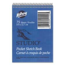 "Studio Sketch Book, 30 Sheets, 12""x18"", White"