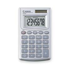 "8-Digit Calculator, Dual Power, 2-7/8""x3-15/16""x7/16"""