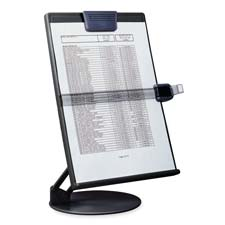 Desktop Euroholder, f/ A4/Letter, Height Adjustable, Black