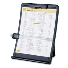 "Easel Document Holders, Adjustable, 10""x2-1/2""x14-3/8"", Black"