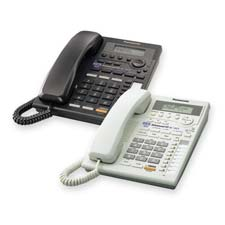 Telephone, 2-Line, Call Wait/CID, 3-Way, 28 Speed Dial, Black
