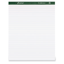 "Easel Pad, 1"" Ruled, 50 Sheets, 27""x34"", White"