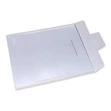 "Poly Envelopes, Tuck-Tab Closure, 14""x17"", Clear"