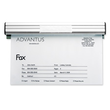 "Fax/Message Holder, 9""L, Satin"