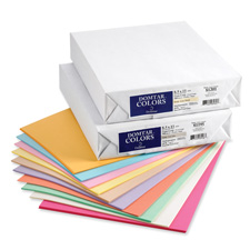 "Coloured Paper/Multi, 20lb, 8-1/2"", 11"", 500/10/PK, Salmon"