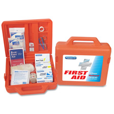 "First Aid Kit, For 50 People, 13""x12-3/4""x4-1/4"", 173 Pieces, OE"