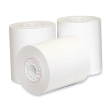 "Calc./Cash Register Roll, Thermal Pos Grade, 2-1/4""x185', 3/PK"