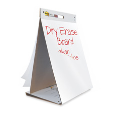 "Dry Erase Ease Pad/Table Top, 20""x23"", 20 Sheets, Assorted"