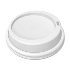 Dome LId For 10 oz. Cup, White