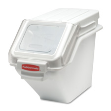 "Cup Safety Storage Bin, 11-1/2""x23-1/2""x16-7/8"", White"