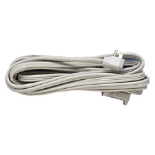 Heavy-Duty Outlet Cord, 14 Gauge, 15 Amp, 9', Grey